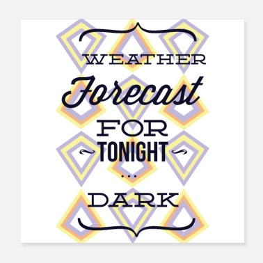 Weather Weather forecast for tonight - Poster