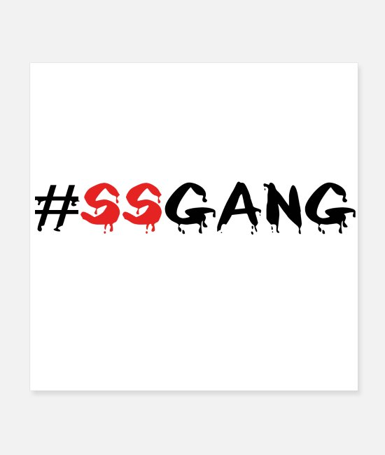 Sneakers Posters - SSGANG - Posters white