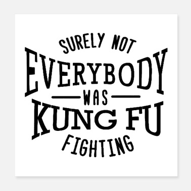 Shaolin surely not everybody was kung fu fighting origin - Poster