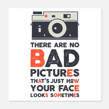 Picture THERE ARE NO BAD PICTURES - Poster