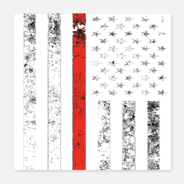 United States Flag of the United States - Poster