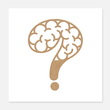 Iq Brain mystery - Mind Mark - Poster