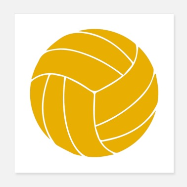 Beach Volleyball volleyball Ball - Poster