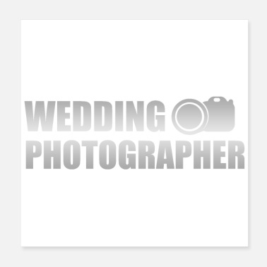 Wedding Wedding Anniversary Wedding Photographer Gift Idea - Poster