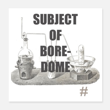 Laboratory Subject of Bore-Dome - Poster