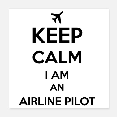 Airline Airline Pilot - Poster
