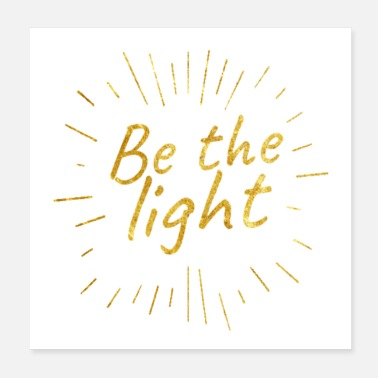 Christian Christian Store - Be The Light - Christian - Poster