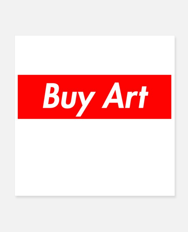 Drugs Posters - Buy Art Not Drugs - Posters white