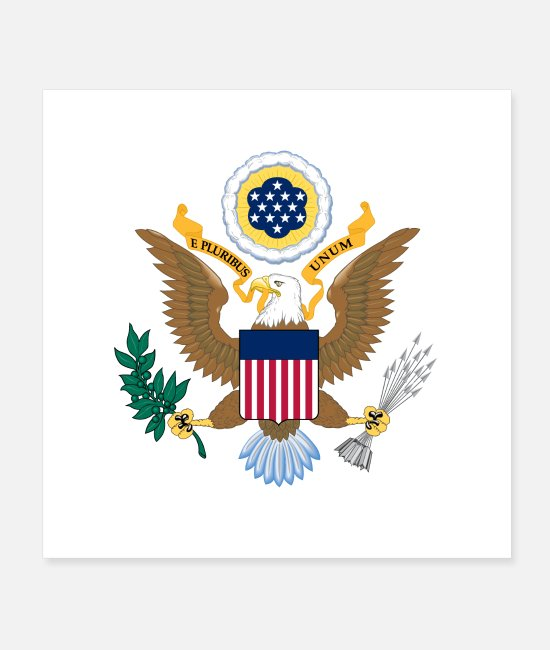 Agent Posters - Department of State logo - Posters white