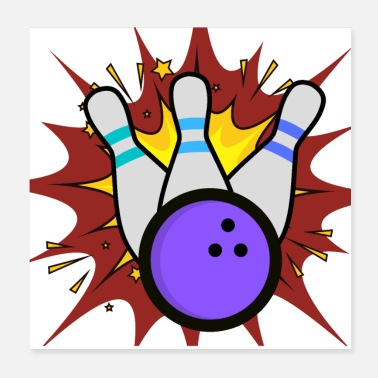 Sporty Bowling Explosion 300 - Poster