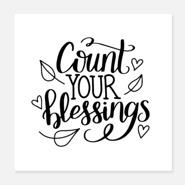 Count-royal Count your blessings - Poster