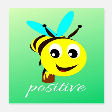 Funny Collection DI Collection -BE POSITIVE - Poster