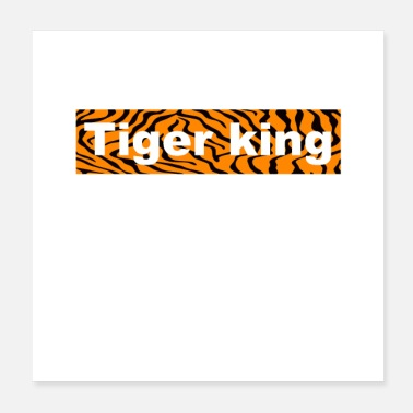 Cat tiger king - Poster