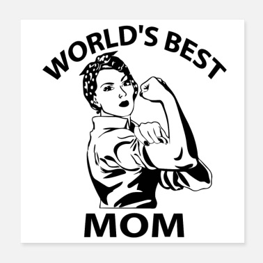 Award World s Best Mom mother quotes from daughter - Poster