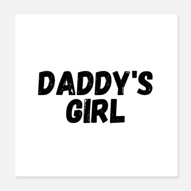 Grillmaster Daddy's girl - Poster