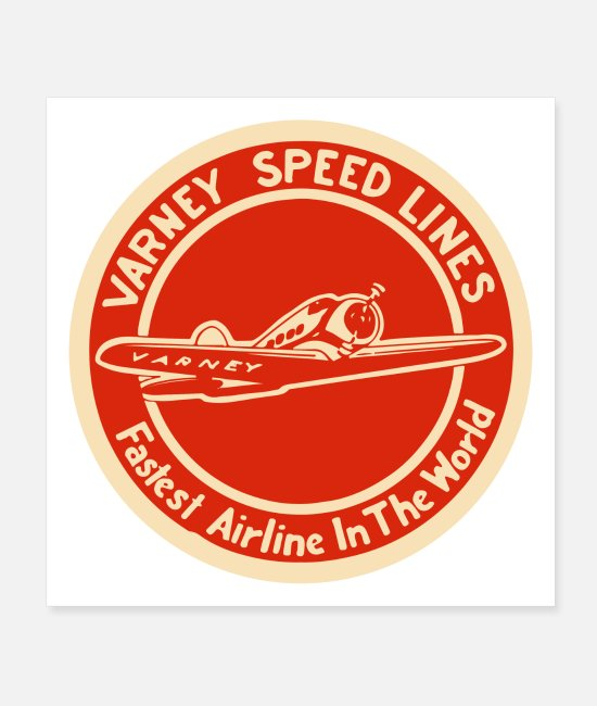 Mechanic Posters - Varney Speed Lines - Posters white