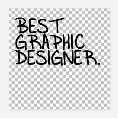 Graphic Art Funny Best Graphic Designer Graphic - Poster