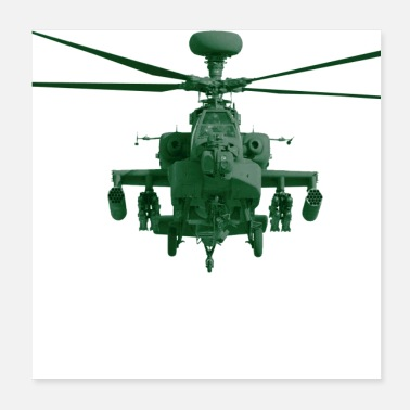 Helicopter Helicopter Apache - Poster