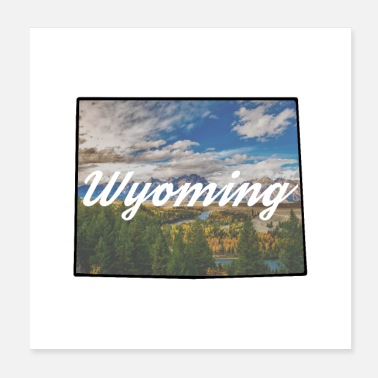 State Wyoming State - Poster