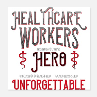 Worker healthcare workers - Poster