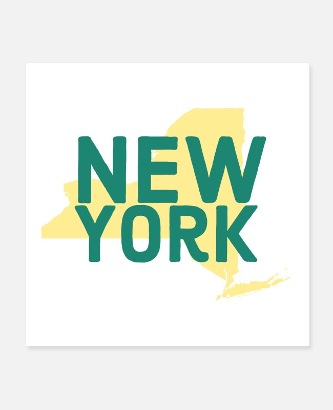 Ny Lover Posters - New york - Posters white