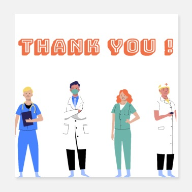 Doctors , Thank you ! - Poster