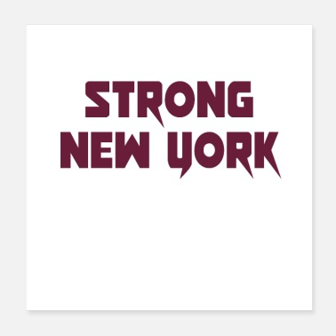Prayer strong New york - Poster