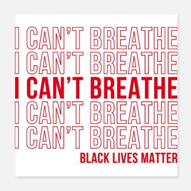 Rights I can't Breathe - Poster