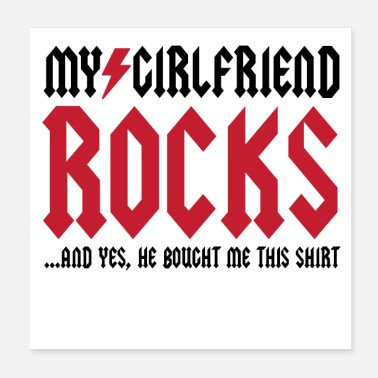 Girlfriend My Girlfriend Rocks - Poster