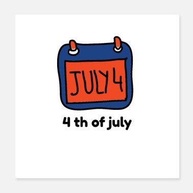 Miscellaneous 4 th of July - Poster