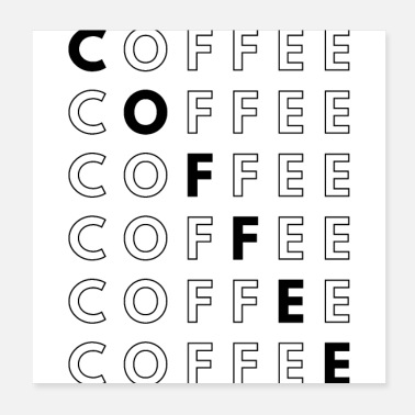 Coffee Coffee Multiple - Poster