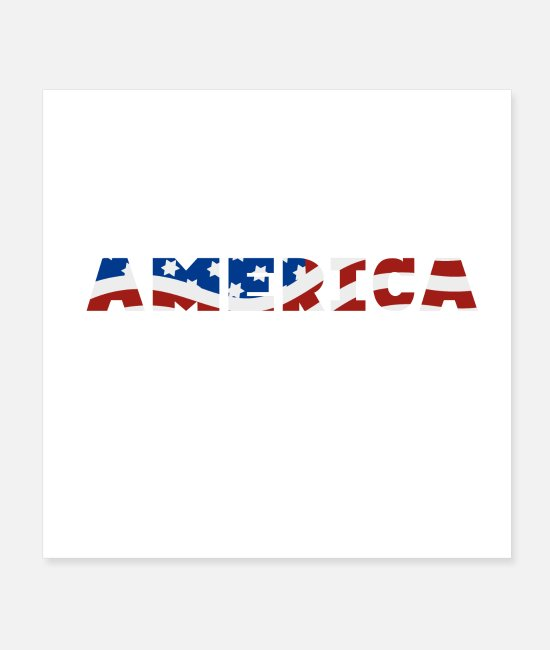 Usa Posters - america Independence Day 2020 - Posters white