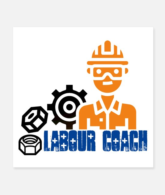 Laboratory Posters - Labour coach shirt - Labour day - Posters white