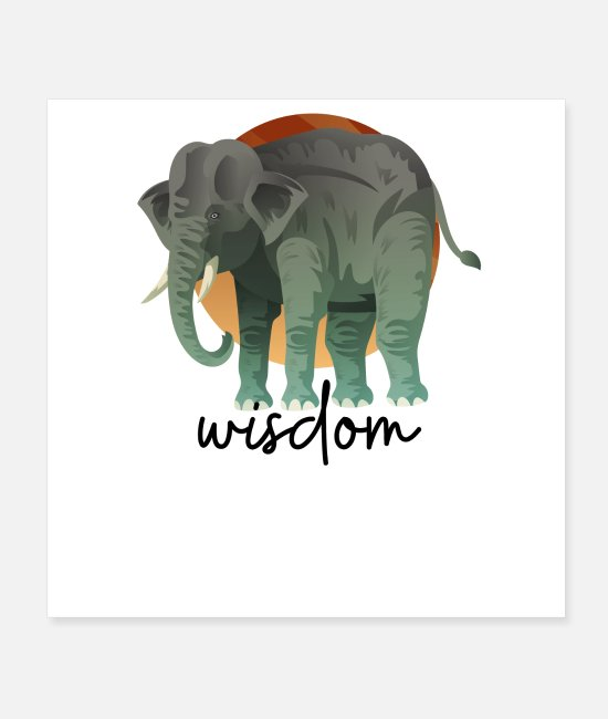 Animal Welfare Posters - Wisdom - Posters white