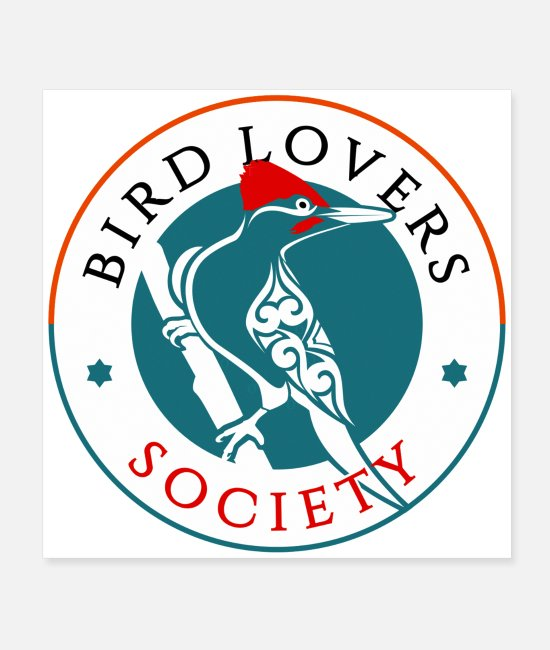 Bird Community Posters - Bird Lovers Society - Posters white
