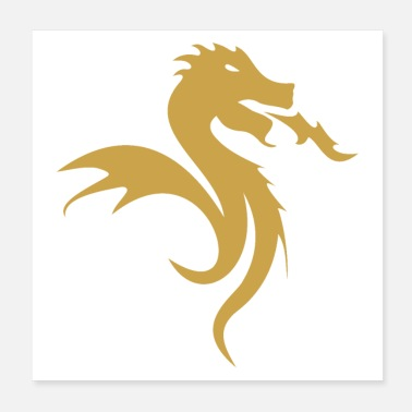 Portuguese Golden Dragon - Poster