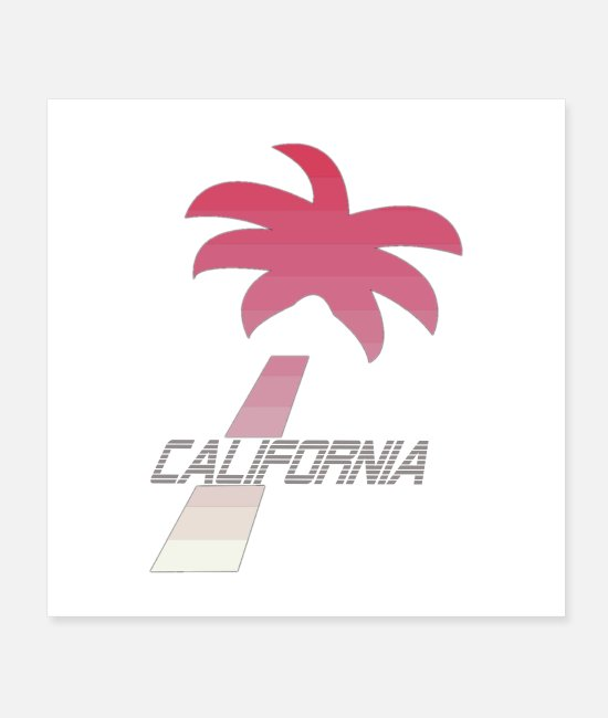 Travel Posters - california - Posters white