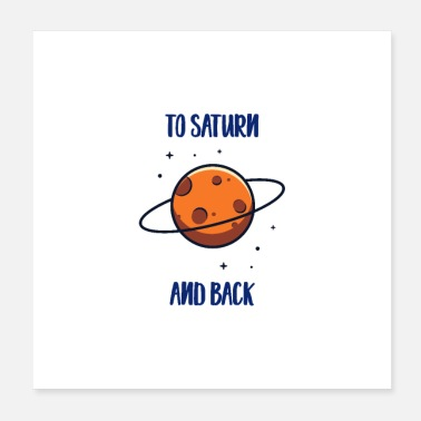 Space To Saturn And Back - Poster