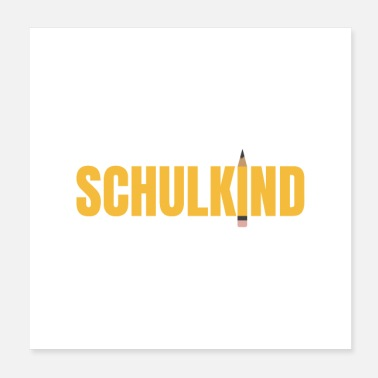 Teaching Schoolbeginner Schulkind First Grader Gift Idea - Poster