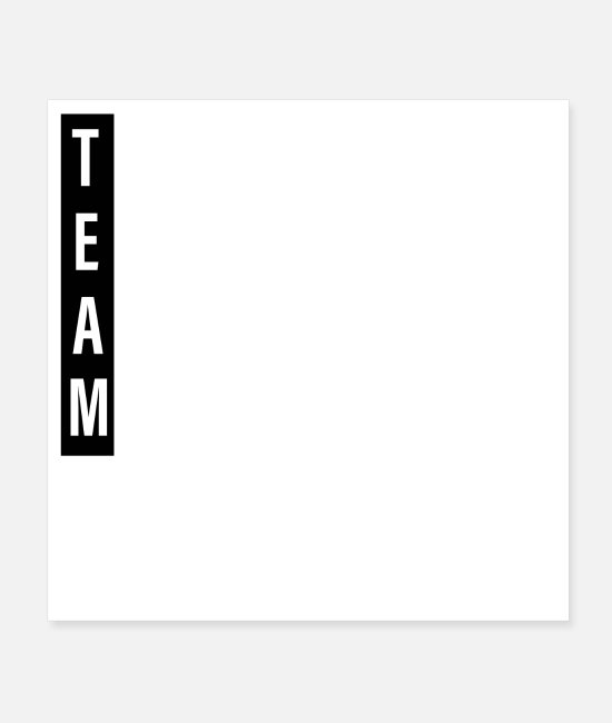 Holidays Posters - Team Together Everyone Achieves More Teamwork - Posters white