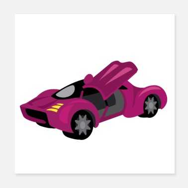 Exotic Cars Exotic car - Poster
