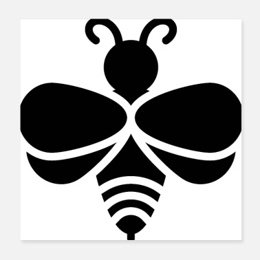 Queen Bee bee icon - Poster