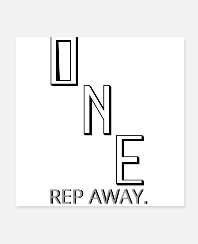 One Directions Posters - OneRep Away! - Posters white