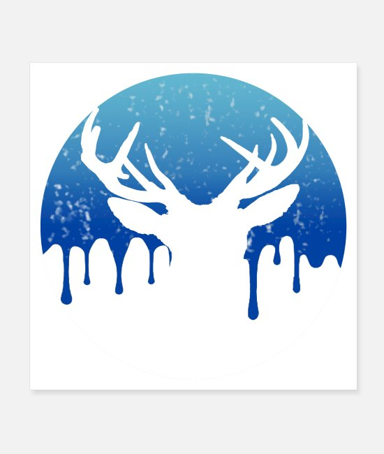 Stag Posters - cert t-shirt - Posters white