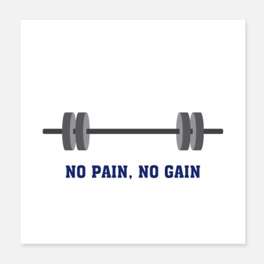 Gym Wear gym quote - Poster