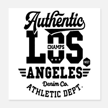 Athletics Los Angeles Athletic - Poster