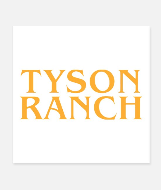 Mma Posters - Tyson Ranch best selling 2020 - Posters white
