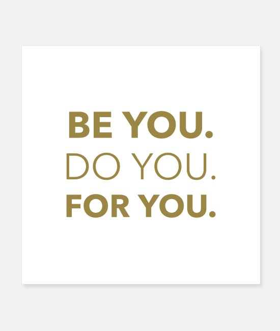 Hipster Posters - Be Yourselves Motivational Hipster Casual Top Gift - Posters white