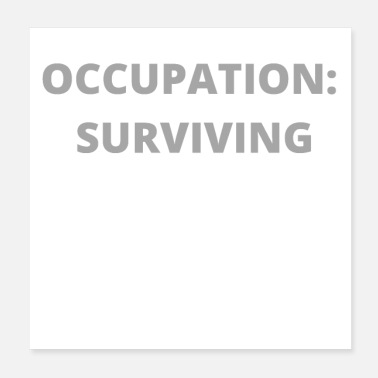 Occupation OCCUPATION SURVIVING - Poster