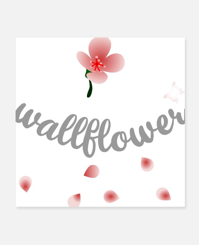 Nature Posters - wallflowers - Posters white